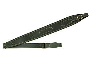 Ремень ружейный из кожи нескользящий Artipel, зелёный