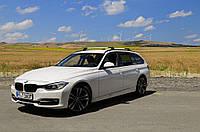 BMW 5 серия F-10/11/07 2010↗ гг. Перемычки на рейлинги V2 серые / Багажник БМВ 5, фото 1