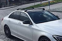 Mercedes W204 C класс перемычки в штатные места Серый / Багажник Мерседес Бенц Ц-класс W205, фото 1