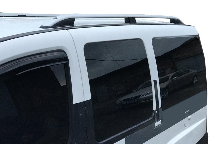 Рейлинги Skyport (серый мат) Fiat Doblo I 2001-2005 гг. / Рейлинги Фиат Добло