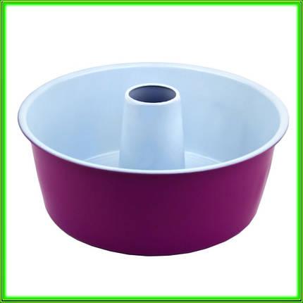 Форма з антипригарним покриттям для випічки кексу з діркою D25,5см h 9.5 см, фото 2