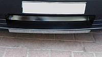 Хром накладка на передний бампер (нерж) Dodge Nitro 2007 гг. / Защитные (хром) накладки на бампер Додж