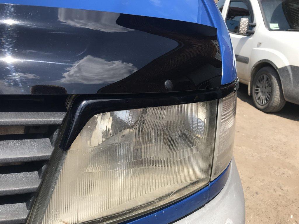 Mercedes Vito 638 реснички черный глянец / Реснички Мерседес Бенц Вито W638