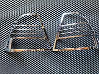 Накладки на стопы (2002-2004, 2 шт, пласт) Toyota Corolla 2002-2007 гг. / Накладки на фонари Тойота Королла