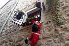 Дед мороз, Санта Клаус на лестнице, 120см., фото 10