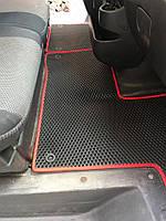 Полиуретановые коврики (EVA, черные) Renault Master 2011 гг. / Резиновые коврики Рено Мастер