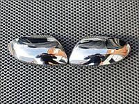 Накладки на зеркала (2 шт, нерж) Dacia Duster 2018↗ гг. / Накладки на зеркала Дачиа Дастер