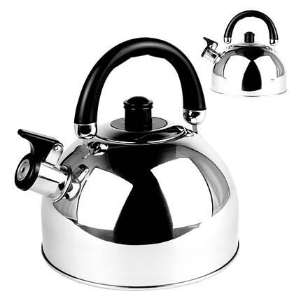 Чайник зі свистком з нержавіючої сталі 3,5 літра, фото 2