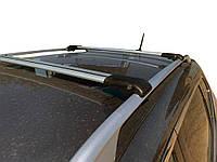 Nissan Qashqai 2014↗ Перемычки багажник на рейлинги под ключ Серый / Багажник Ниссан Кашкай, фото 1