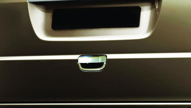 Mercedes Vito 639 Накладка на заднюю ручку OmsaLine / Накладки на двери Мерседес Бенц Вито W639