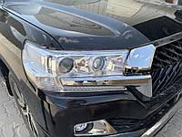 Передняя оптика 2016+ (Standart) Toyota LC 200 / Передние фары Тойота Ленд Крузер 200