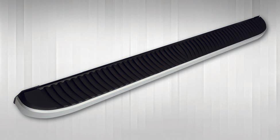 Боковые пороги Tayga Grey V1 (2 шт., алюминий) Mercedes X class / Боковые пороги Мерседес Бенц X class