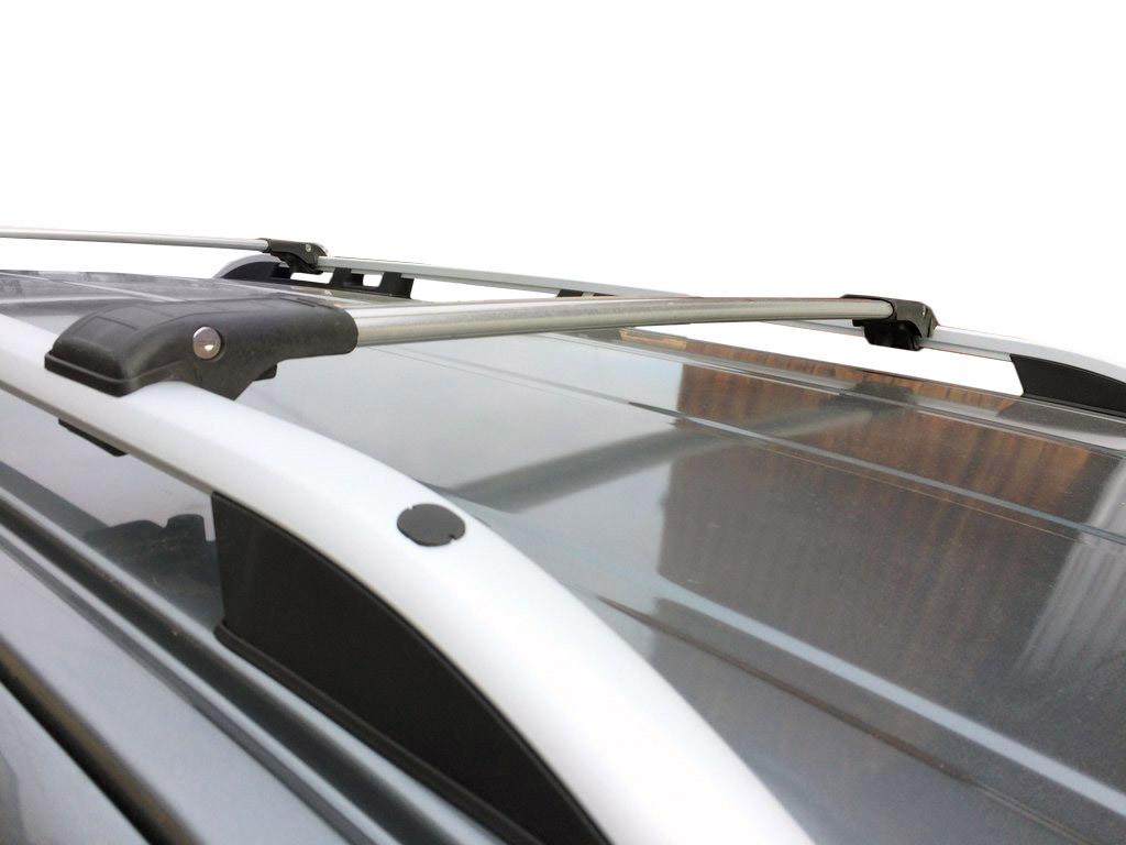 Volkswagen Golf 6 SW Верхний багажник на рейлинги с замком Черный / Багажник Фольксваген Гольф 6