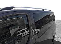 Citroen Jumpy 2017↗ гг. Рейлинги Хром XL база, пластиковая ножка / Рейлинги Ситроен Jumpy/Dispatch