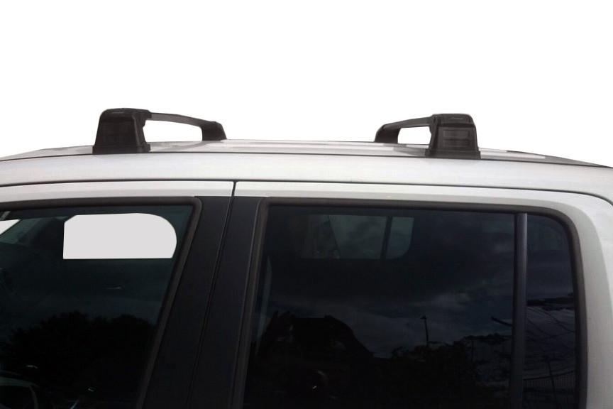 Volkswagen Caddy 2015↗ багажник поперечина в штатные места Серый / Багажник Фольксваген Кадди
