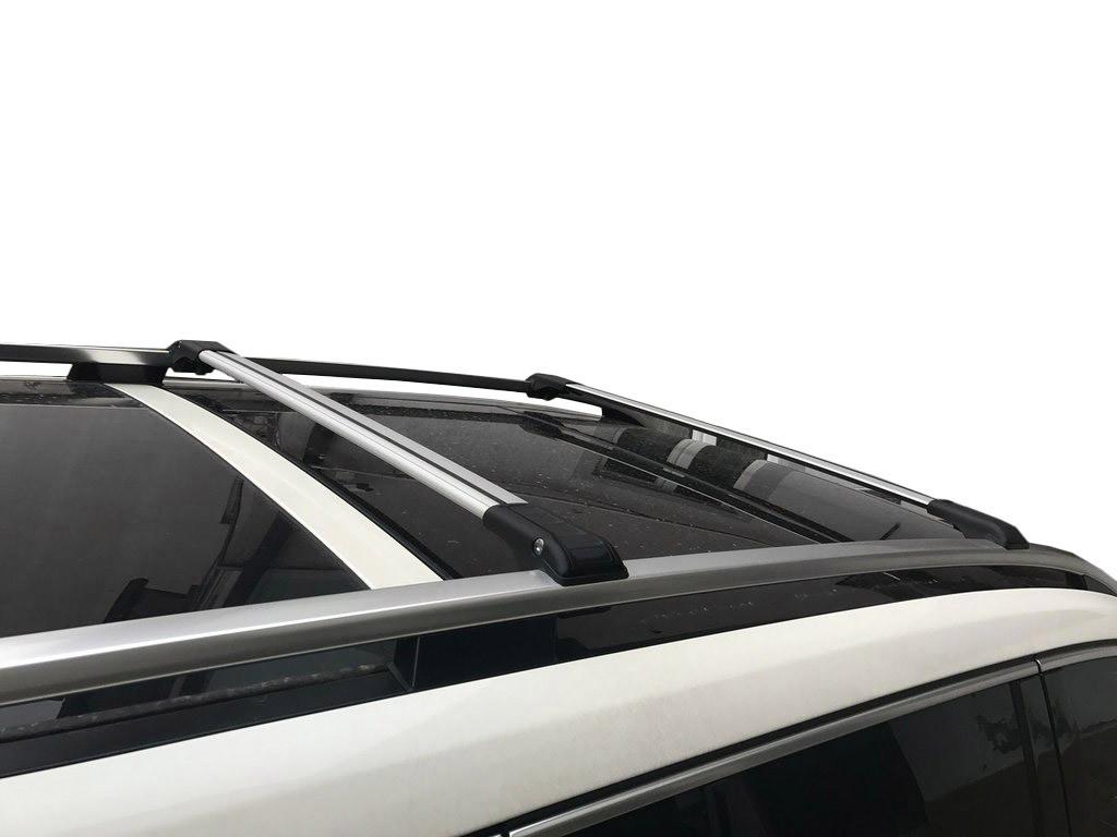 Mercedes GL X166 Поперечины на рейлинги Черный / Багажник Мерседес Бенц GL/GLS klass X166