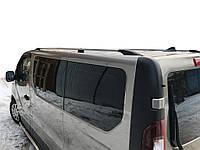 Nissan NV300 2015 Рейлинги Хром Длинная база, пластиковые ножки / Рейлинги Ниссан NV300, фото 1