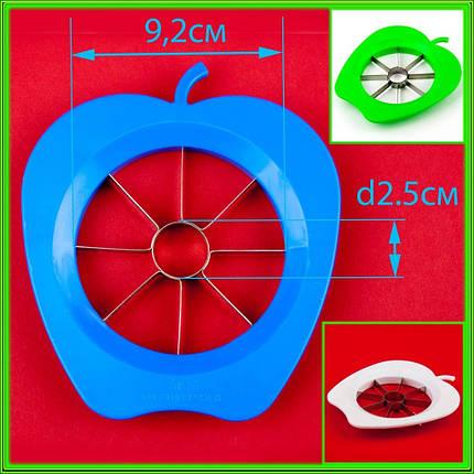 Яблокорезка пластиковая D9,2см d2,5см, фото 2