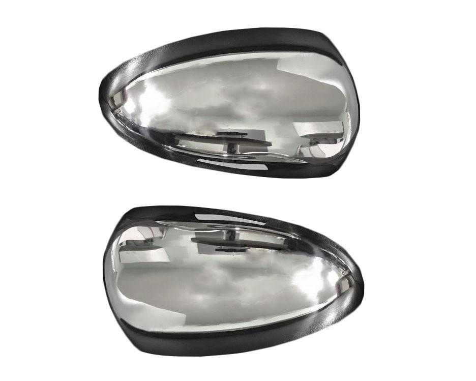 Накладки на зеркала (2 шт, нерж) Chevrolet Cruze 2009↗ гг. / Накладки на зеркала Шевроле Крузе