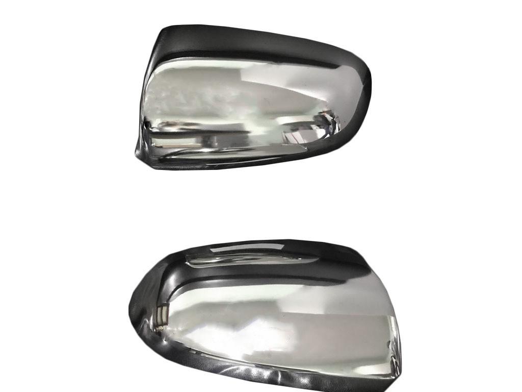 Накладки на зеркала 2004-2008 (2 шт., нерж.) Audi A3 2004-2012 гг. / Накладки на зеркала Ауди A3