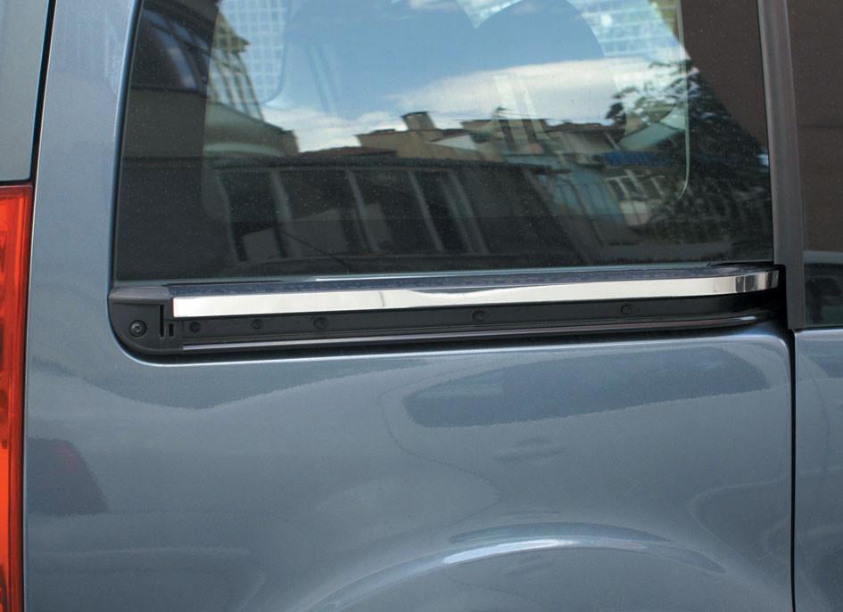 Peugeot Partner Tepee Молдинг под сдвижную дверь Carmos / Накладки на двери Пежо Партнер Типи