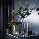 ИКЕА (IKEA) ЦИЛИНДР, 601.750.92, Набор ваз,3 штуки, прозрачное стекло - ТОП ПРОДАЖ, фото 7