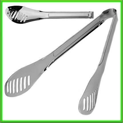 Щипцы кухонные универсальные L23,5см ширина 5см, фото 2