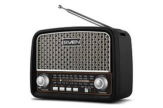 Радиоприемник Sven SRP-555 Black/Silver