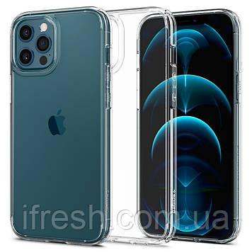 Чехол Spigen для iPhone 12 Pro Max Ultra Hybrid, Crystal Clear (ACS01618)