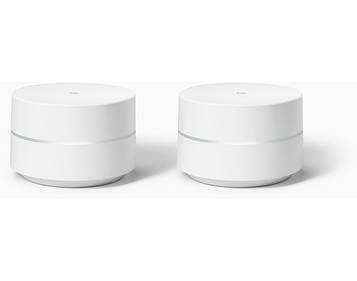 Google Wi-fi беспроводной маршрутизатор - роутер 2 Pack  (EU - версия)