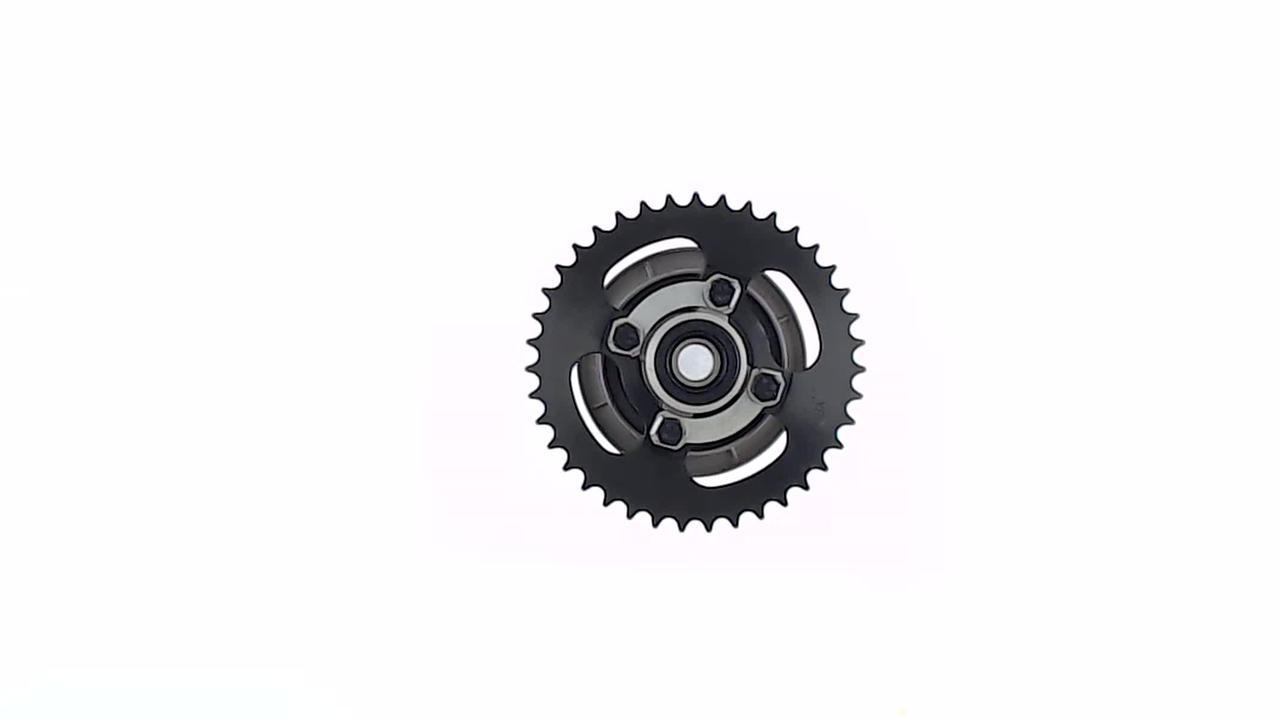 Демпфер заднего колеса на Мопед Дельта (Deltа) (+звезда 420-39T) EVO