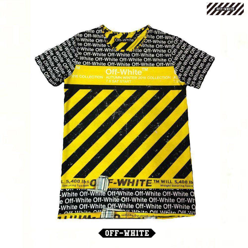 Мужская футболка. Реплика OFF-WHITE. Мужская одежда 50