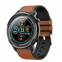 Умные наручные смарт часы Smart Watch JET-5 Sport Brown кислород в крови, давление, пульс