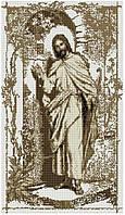 """Набір алмазної мозаїки 40х70 """"Ісус стукає в двері сепія"""" SS811"""