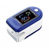 Портативний пульсоксиметр на палець для вимірювання сатурації кисню і частоти пульсу Lk87, фото 1