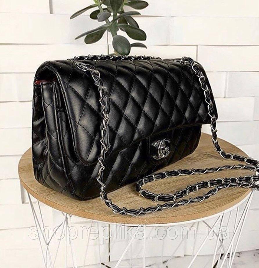 Деловая сумка через плечо Сумки женские черные брендовые 2020