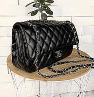 Деловая сумка через плечо Сумки женские черные брендовые 2020, фото 1