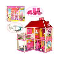Домик для кукол Bambi 6980 Pink (LI10337)