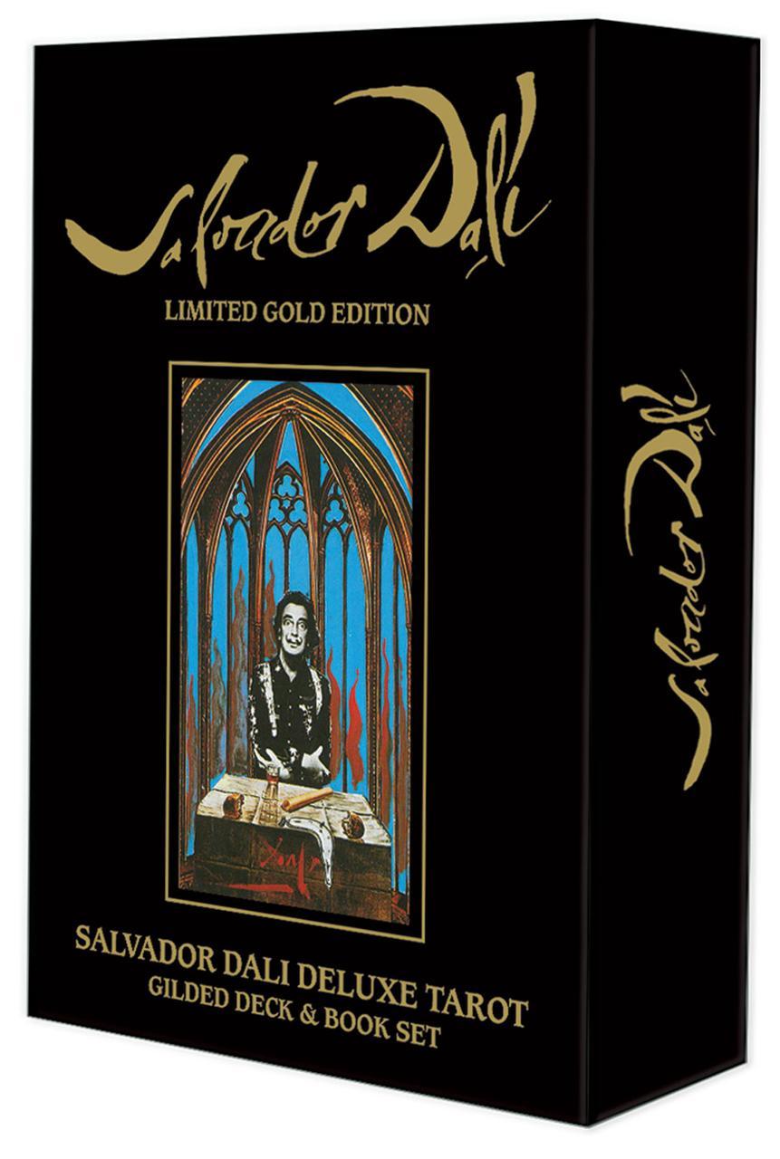 Salvador Dali Deluxe Tarot: Gilded Deck & Book Set