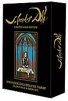 Salvador Dali Deluxe Tarot: Gilded Deck & Book Set, фото 1