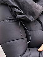 Стильний пуховик пальто FineBabyCat 186-grey, фото 2