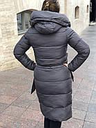 Стильний пуховик пальто FineBabyCat 186-grey, фото 4