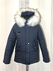 Зимняя женская куртка с мехом размеры 44-52