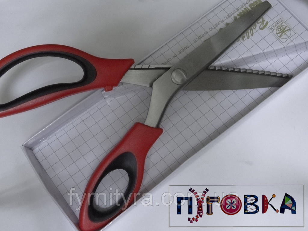 "Ножницы ""Зиг-заг"" 092 NIKKEN belltex"