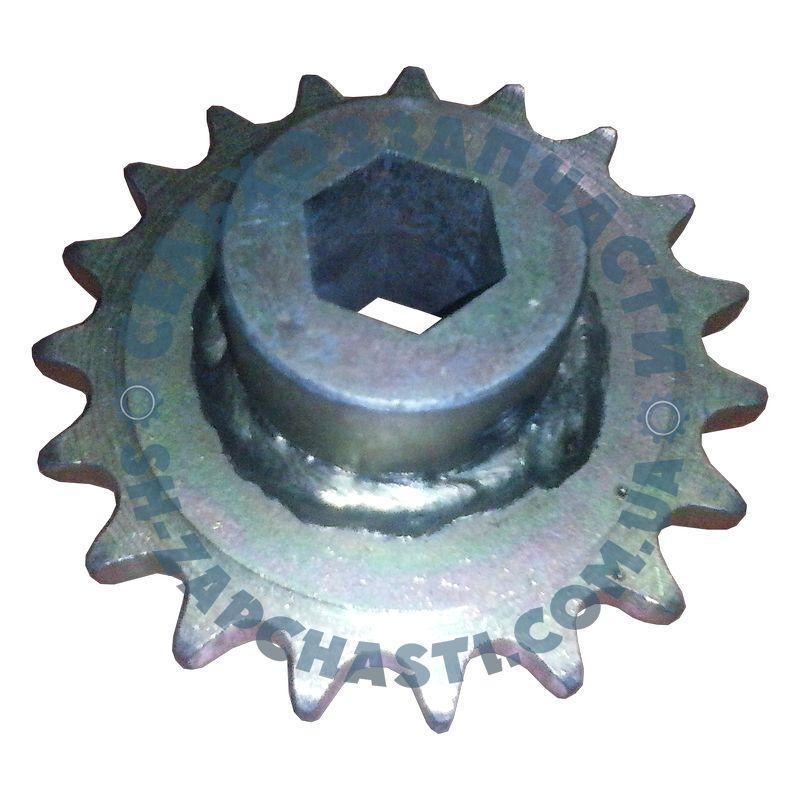 Звездочка УПС СУПК 00.610-01  t=15/Z=19/шестигр.