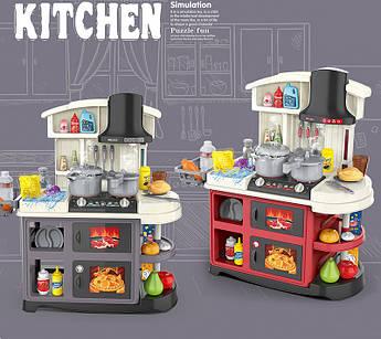 Детский игровой набор интерактивная кухня Spraing Mist Kitchen со звуковыми и световыми эффектами 52 элемента