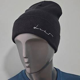 Мужская шапка вышивкой Dias