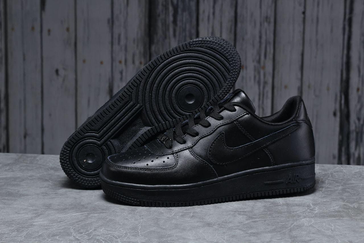 NIke Air Force 1 мужские кроссовки кожа