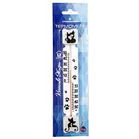 Термометр оконный ТБ-3-М-1 (№5Д)  на липучке
