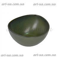 Пиала для подачи Green зеленый, 7х12.5х14см, пиала  Green, пиала для подачи
